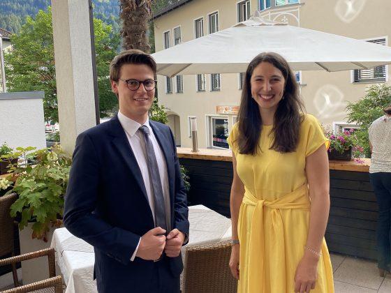 LO Sophia Kircher freut sich auf die gute Zusammenarbeit mit Elias Krall