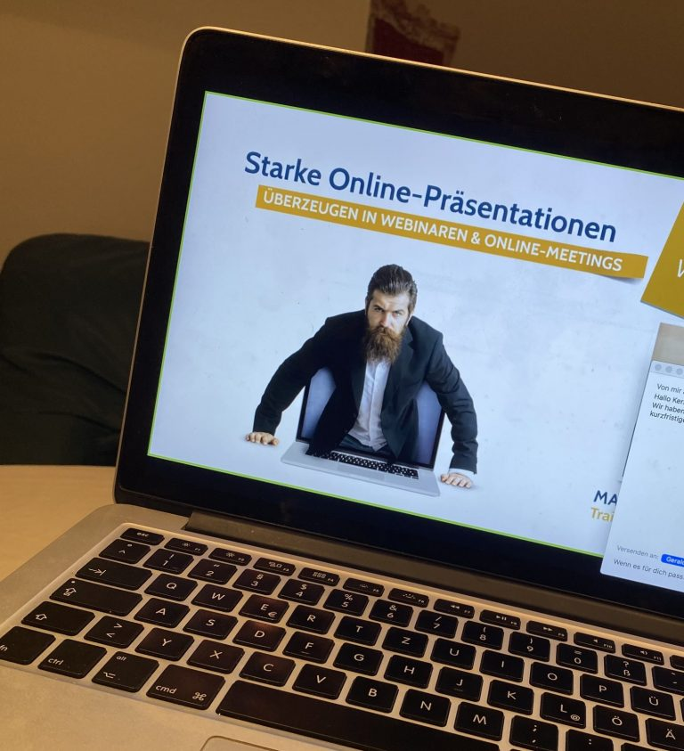 Starke Online-Präsentationen