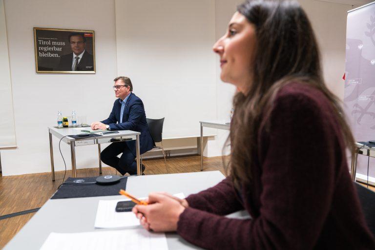 Dein JVP Talk mit Landeshauptmann Günther Platter